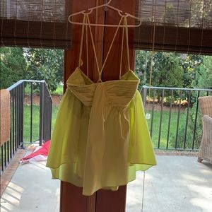 Lime Green Rebecca Minkoff top